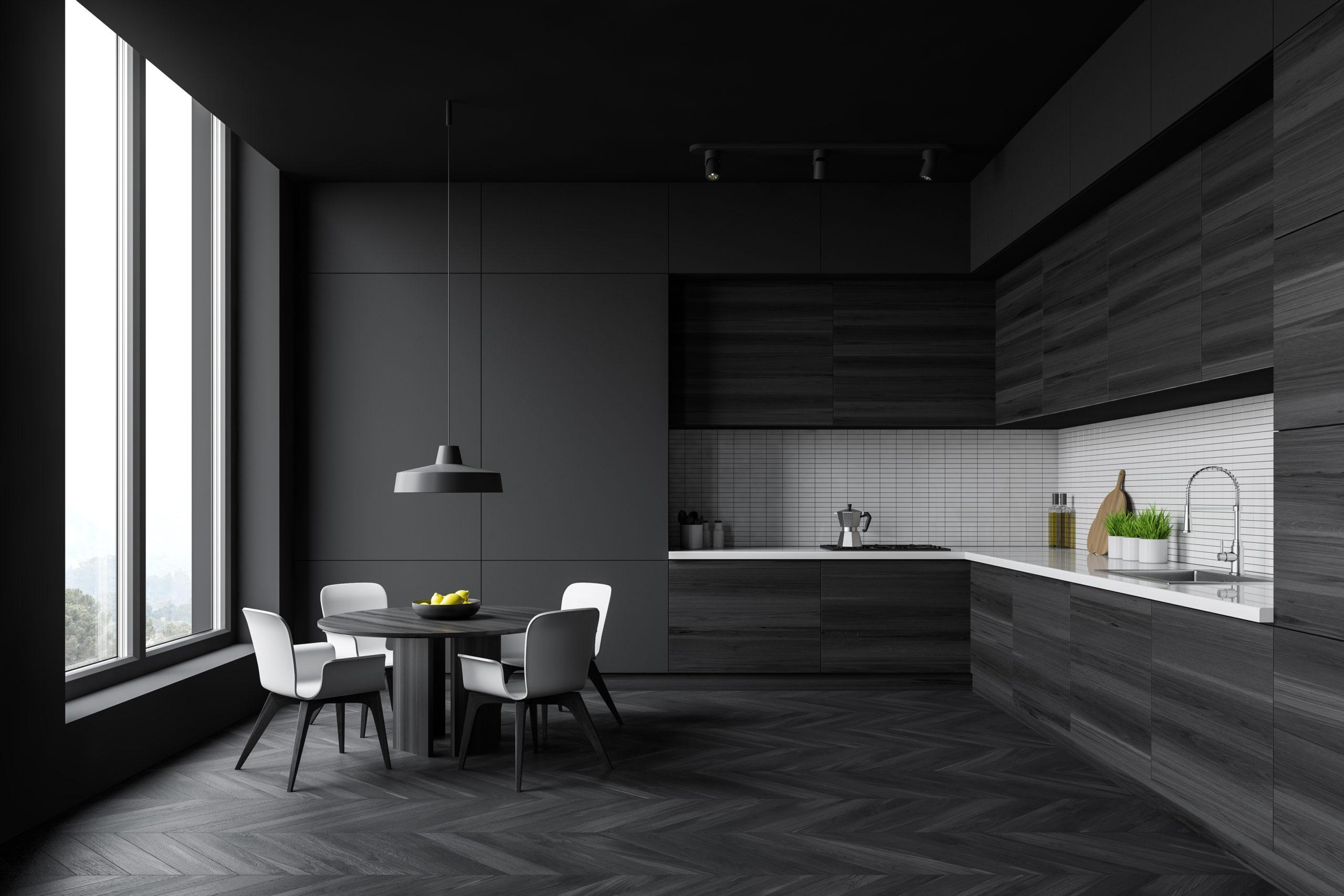 Zdjęcie tytułowe - ciemna kuchnia